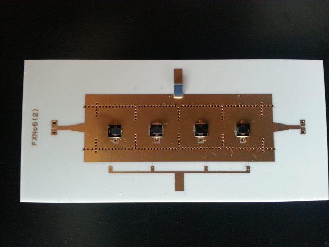 Filtre SIW ( Alumine) Accordable à base de MEM's