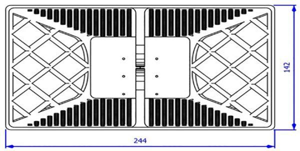 Mesure Antenne cornet 0.9-8 GHz