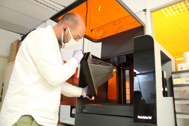 Antenne dans une imprimante 3D ultimaker