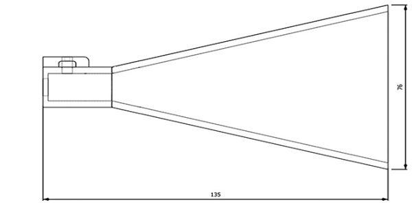 Mesure Antenne 7.0-10.0 GHz 15 dB Gain