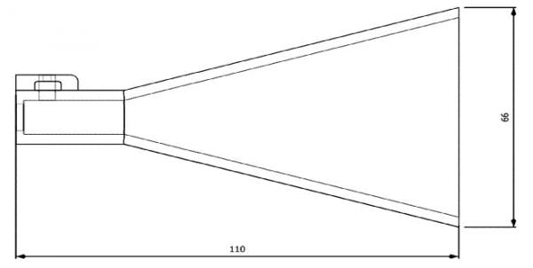 Mesure Antenne 8.2-12.4 GHz 15 dB Gain