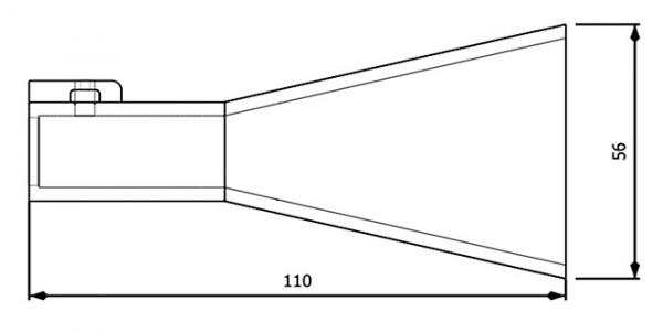 Mesure Antenne 7.0-10.0 GHz 10 dB Gain