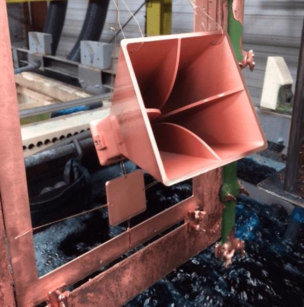antenne en production
